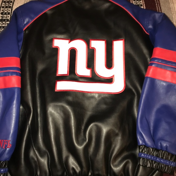 low priced 7fd5e 7a26f New York Giants NFL official Leather Jacket M